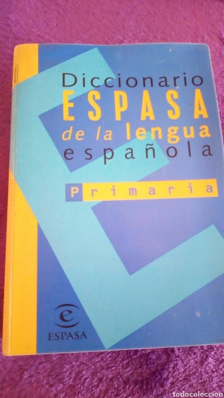 DICCIONARIO ESPASA DE LA LENGUA ESPAÑOLA PRIMARIA (Libros de Segunda Mano - Diccionarios)