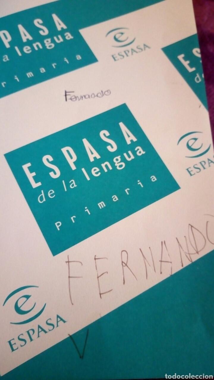 Diccionarios de segunda mano: Diccionario ESPASA de la lengua española primaria - Foto 4 - 123727447
