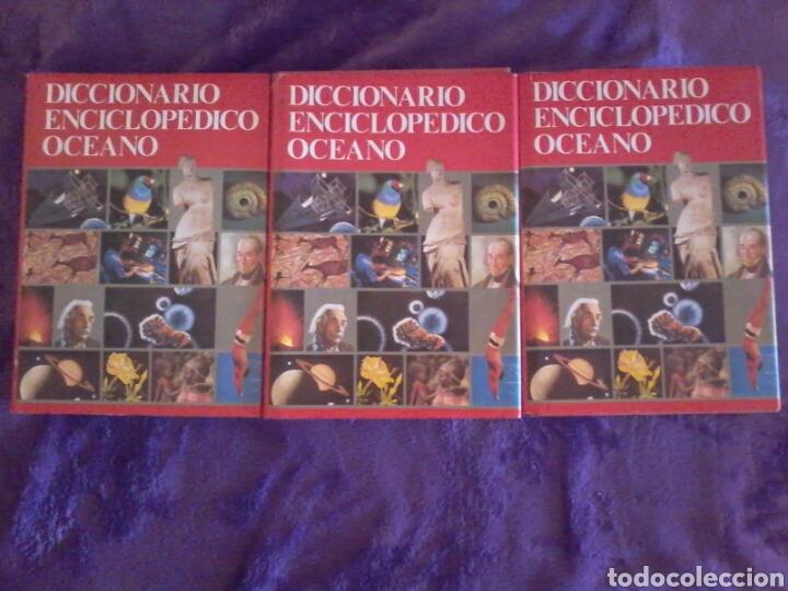 Diccionarios de segunda mano: Diccionario enciclopédico Océano. Tres tomos. - Foto 6 - 124642799
