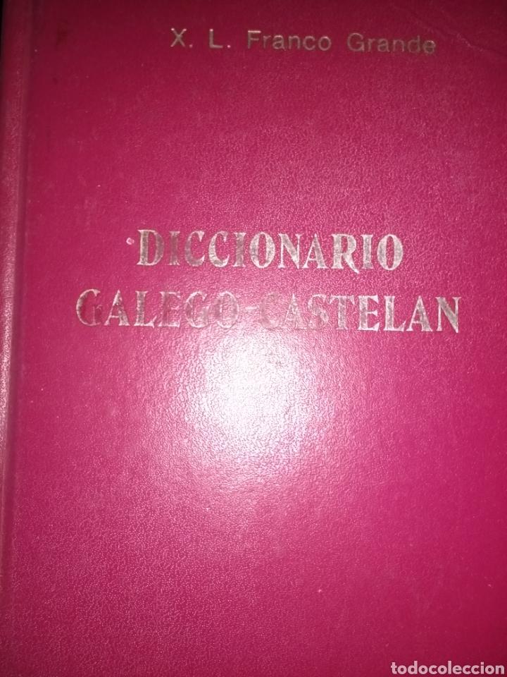 DICCIONARIO GALEGO CASTELAN. X. L. FRANCO GRANDE. EDITORIAL GALAXIA. SEXTA EDICIÓN 1981. CARTONÉ. PÁ (Libros de Segunda Mano - Diccionarios)