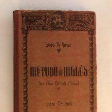 Diccionarios de segunda mano - Metodo de ingles, por Lewis Th. Girau (a.1940) - 124914206
