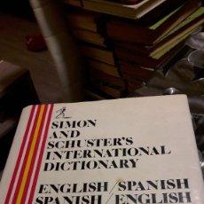 Diccionarios de segunda mano: DICCIONARIO INTERNACIONAL - SIMON & SCHUSTER. Lote 125236415