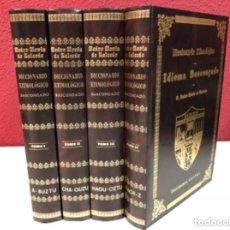 Libri di seconda mano: FACSÍMIL DE LA OBRA DE 1887 EDITADA POR LOS AMIGOS DEL LIBRO VASCO EN 1989. 4 TOMOS (COMPLETA).. Lote 126067979