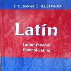 Diccionarios de segunda mano: DICCIONARIO ILUSTRADO LATIN. SPES VOX. Lote 221427536