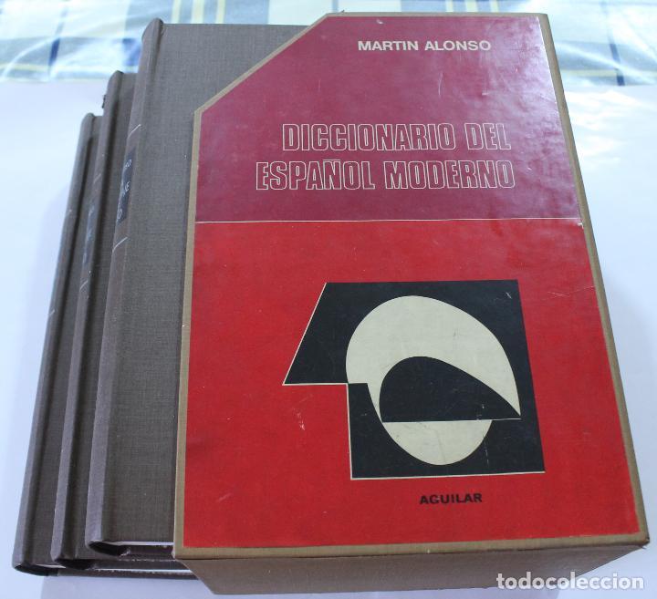 EDITORIAL AGUILAR- DICCIONARIO - MARTIN ALONSO (Libros de Segunda Mano - Diccionarios)