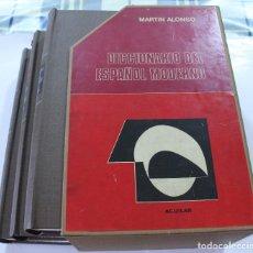 Diccionarios de segunda mano: EDITORIAL AGUILAR- DICCIONARIO - MARTIN ALONSO. Lote 126260811
