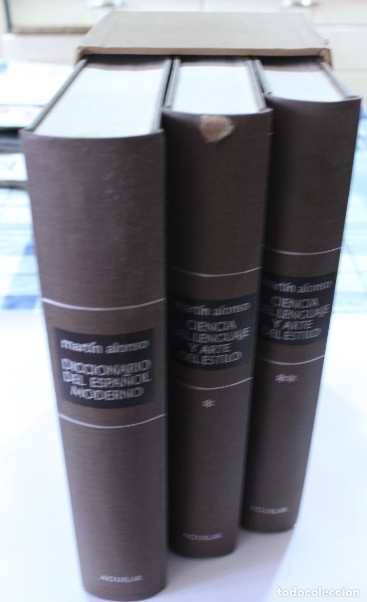 Diccionarios de segunda mano: EDITORIAL AGUILAR- DICCIONARIO - MARTIN ALONSO - Foto 2 - 126260811