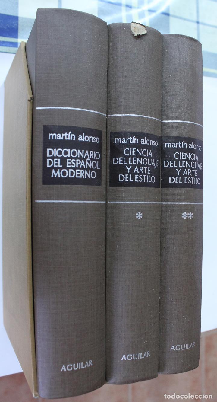 Diccionarios de segunda mano: EDITORIAL AGUILAR- DICCIONARIO - MARTIN ALONSO - Foto 3 - 126260811