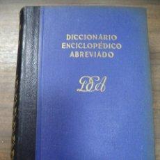 Diccionarios de segunda mano: DICCIONARIO ENCICLOPEDICO ABREVIADO. 7ª EDICION. TOMO V. ESPASA - CALPE, S. A. MADRID, 1957.. Lote 126856871