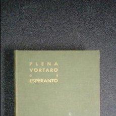 Diccionarios de segunda mano: ESPERANTO. LENGUA UNIVERSAL. LITERATURA ESPERANTISTA. DICCIONARIO ESPERANTISTA.. Lote 127090555