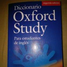 Diccionarios de segunda mano: DICCIONARIO DE INGLES ESPAÑOL ENGLISH SPANISH OSFORD STUDY DICTIONARY NUEVO. Lote 127599403