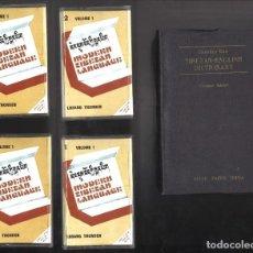 Diccionarios de segunda mano: DICCIONARIO TIBETANO-INGLÉS. TIBETAN-ENGLISH DICTIONARY. 1995. INCLUYE 4 CASETTES. Lote 127600703