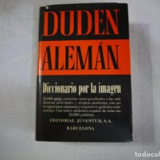 Diccionarios de segunda mano: DUDEN ALEMÁN. DICCIONARIO POR LA IMAGEN - EDITORIAL JUVENTUD. Lote 127663307