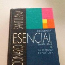 Diccionarios de segunda mano: LIBRO. DICCIONARIO ESENCIAL SANTILLANA, LENGUA ESPAÑOLA. 1996, 8ª EDICIÓN, MUY BUEN ESTADO. Lote 128722543