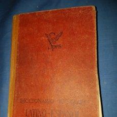 Diccionarios de segunda mano: DICCIONARIO LATIN ESPAÑOL 1944. Lote 128816524