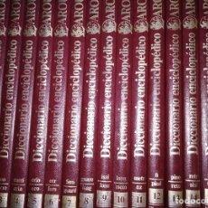 Diccionarios de segunda mano: DICCIONARIO ENCICLOPÉDICO LAROUSSE EN COLOR. PLANETA. 16 TOMOS (COMPLETO), AÑO 1984. Lote 129377775