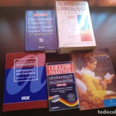 Diccionarios de segunda mano: LOTE DE DICCIONARIOS. Lote 129666931
