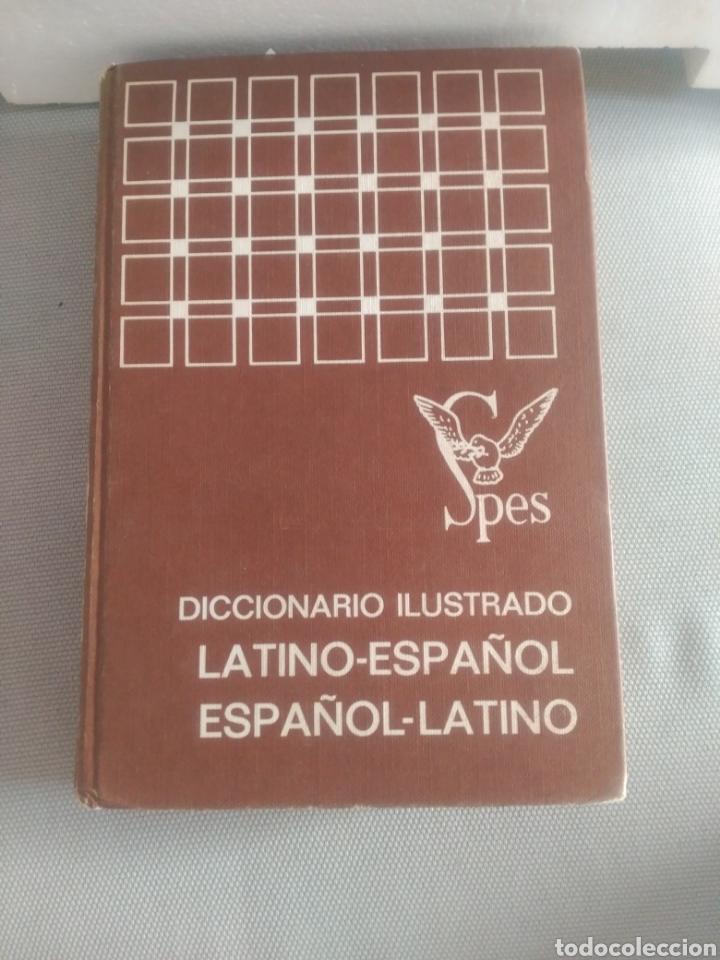DICCIONARIO ILUSTRADO LATINO ESPAÑOL .EDITORIAL SPES (Libros de Segunda Mano - Diccionarios)