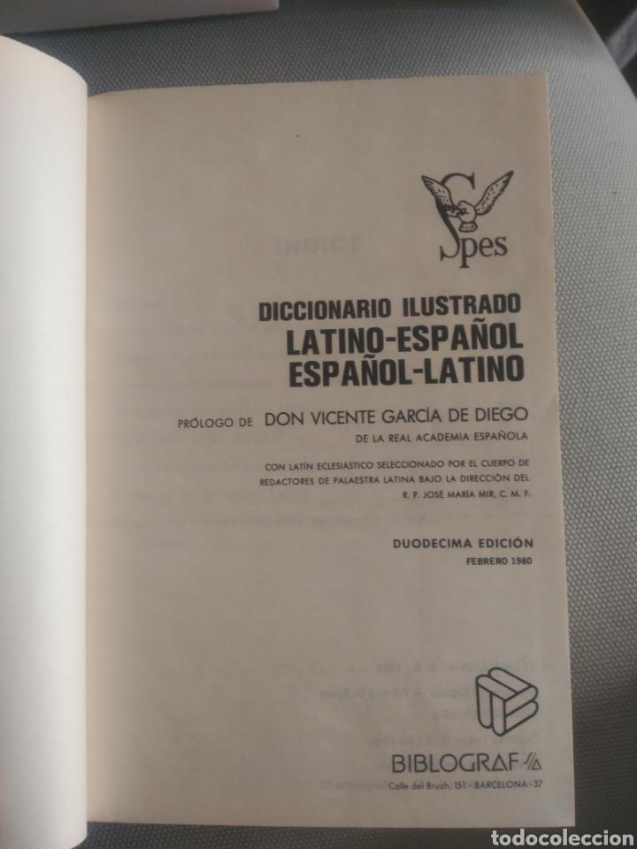 Diccionarios de segunda mano: Diccionario ilustrado latino español .Editorial Spes - Foto 3 - 130795519