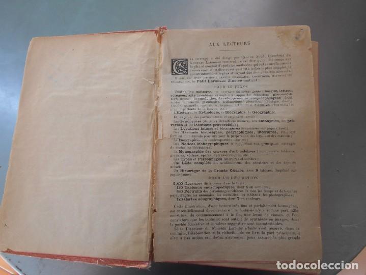 Diccionarios de segunda mano: Petit Larousse Illustré de la Librairie Larousse Paris -Medidas 13x20 cm. 1664 páginas. - Foto 4 - 131852130