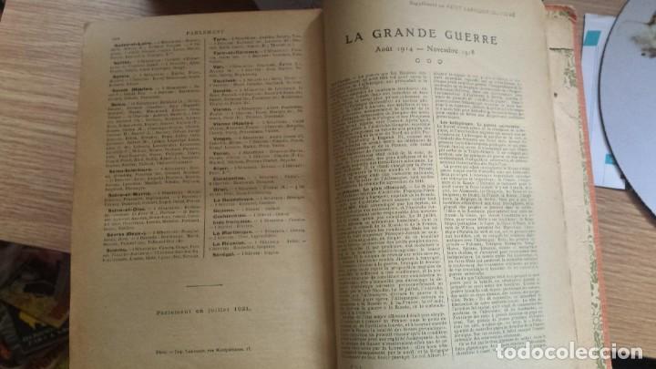 Diccionarios de segunda mano: Petit Larousse Illustré de la Librairie Larousse Paris -Medidas 13x20 cm. 1664 páginas. - Foto 8 - 131852130