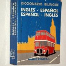 Diccionarios de segunda mano: DICCIONARIO BILINGÜE FONEDEST ENGLISH S.L. - INGLES - ESPAÑOL. Lote 131856530