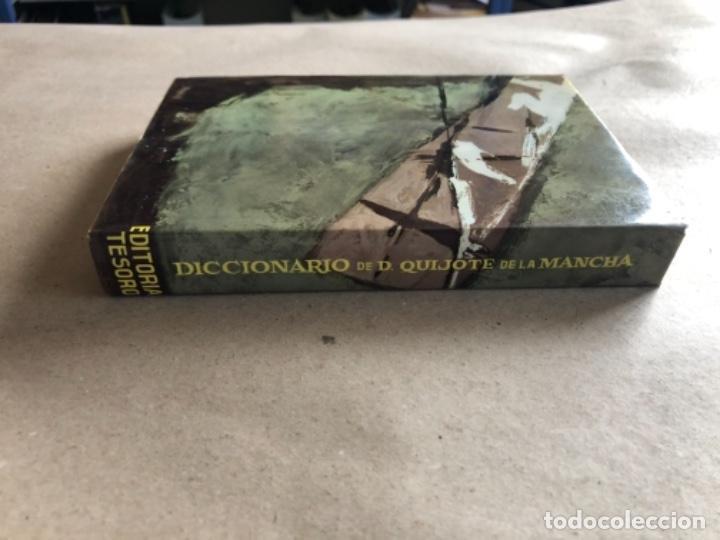 Diccionarios de segunda mano: DICCIONARIO DEL INGENIOSO HIDALGO DON QUIJOTE DE LA MANCHA. LUIS CAYON FERNÁNDEZ. ED. TESORO 1962. - Foto 8 - 132303318