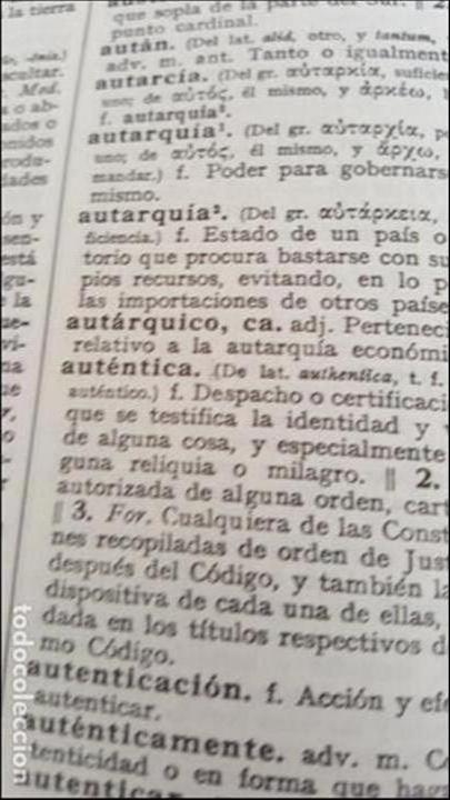 Diccionarios de segunda mano: DICCIONARIO DE LA REAL ACADEMIA ESPAÑOLA, DECIMONOVENA EDICION. - Foto 3 - 132308582