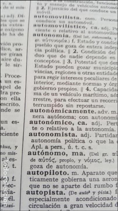 Diccionarios de segunda mano: DICCIONARIO DE LA REAL ACADEMIA ESPAÑOLA, DECIMONOVENA EDICION. - Foto 4 - 132308582