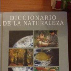 Diccionarios de segunda mano: DICCIONARIO DE LA NATURALEZA. HOMBRE. ECOLOGÍA. PAISAJE. BBV 1993.. Lote 134164470