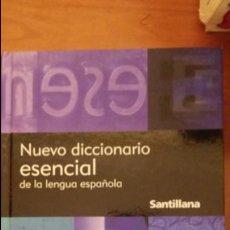 Diccionarios de segunda mano: NUEVO DICCIONARIO ESENCIAL DE LA LENGUA ESPAÑOLA. SANTILLANA.. Lote 134164710