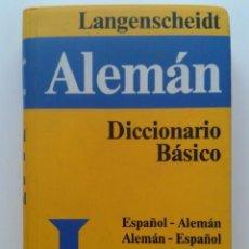 Diccionarios de segunda mano: DICCIONARIO ESPAÑOL-ALEMAN / ALEMAN-ESPAÑOL - LANGENSCHEIDT - SANTILLANA. Lote 134235322
