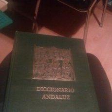 Diccionarios de segunda mano: DICCIONARIO ANDALUZ. VOL. V- BIOGRAFICO Y TERMINOLOGICO. Lote 134451982