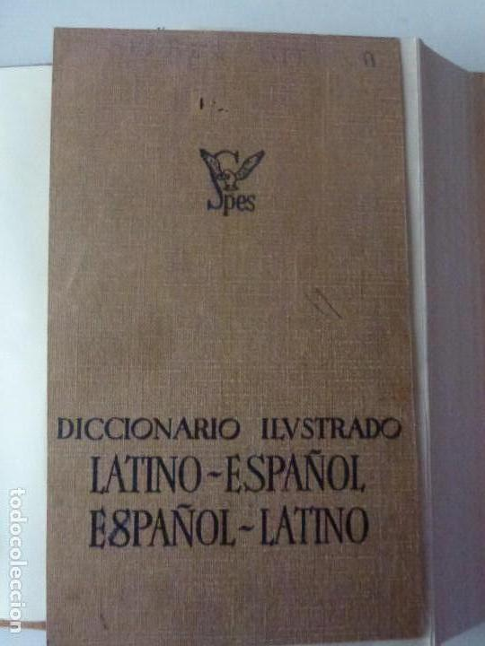 Diccionarios de segunda mano: Diccionario ilustrado Latino-Español Espanol-Latino Spes - Foto 2 - 134632758