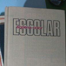 Diccionarios de segunda mano: DICCIONARIO ESCOLAR SOPENA. 1983. Lote 135055629