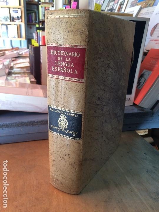 DICCIONARIO DE LA LENGUA ESPAÑOLA. REAL ACADEMIA DE LA LENGUA. EDICIÓN DE 1970. (Libros de Segunda Mano - Diccionarios)