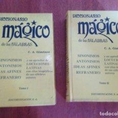 Diccionarios de segunda mano: DICCIONARIO MÁGICO TOMO 1 Y 2. Lote 135273030