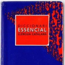 Diccionarios de segunda mano: DICCIONARI ESSENCIAL LLENGUA CATALANA - VOX 2005. Lote 135671271