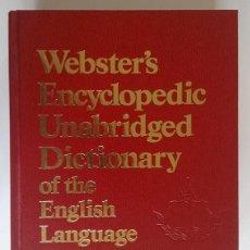 Diccionarios de segunda mano: WEBSTER'S ENCYCLOPEDIC UNABRIDGED DICTIONARY OF THE ENGLISH LANGUAGE. Lote 136279178