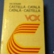 Diccionarios de segunda mano: DICCIONARI CASTELLÀ-CATALÀ/ CATALÀ -CASTELLÀ. VOX.. Lote 136396420