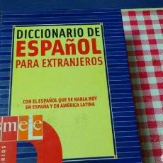 Diccionarios de segunda mano: DICCIONARIO ESPAÑOL PARA EXTRANJEROS .ED SM.CON EL ESPAÑOL DE ESPAÑA YAMÉRICA LATINA.. Lote 136398238