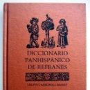 Diccionarios de segunda mano: DICCIONARIO PANHISPÁNICO DE REFRANES, DE DELFÍN CARBONELL BASSET. Lote 148926250