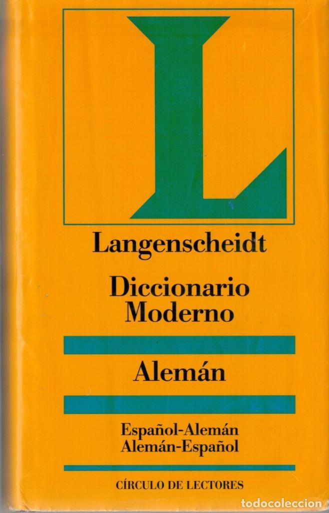 DICCIONARIO MODERNO ALEMÁN - CIRCULO DE LECTORES (Libros de Segunda Mano - Diccionarios)