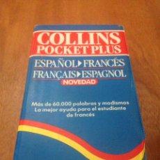Diccionarios de segunda mano: DICCIONARIO COLLINS POCKET PLUS FRANCÉS. ESPAÑOL FRANCES - FRANÇAIS ESPAGNOL. Lote 137984170