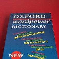 Diccionarios de segunda mano: OXFORD WORDPOWER DICTIONARY. Lote 138077696