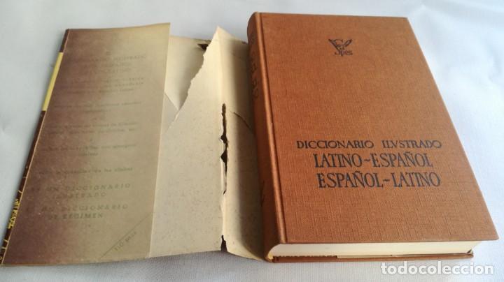 DICCIONARIO LATINO ESPAÑOL ILUSTRADO -BIBLOGRAF 1964 (Libros de Segunda Mano - Diccionarios)