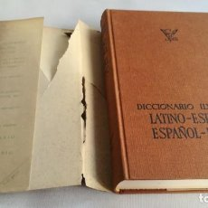 Diccionarios de segunda mano: DICCIONARIO LATINO ESPAÑOL ILUSTRADO -BIBLOGRAF 1964. Lote 138920770