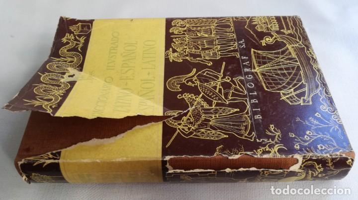 Diccionarios de segunda mano: DICCIONARIO LATINO ESPAÑOL ILUSTRADO -BIBLOGRAF 1964 - Foto 2 - 138920770