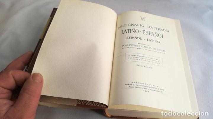 Diccionarios de segunda mano: DICCIONARIO LATINO ESPAÑOL ILUSTRADO -BIBLOGRAF 1964 - Foto 10 - 138920770