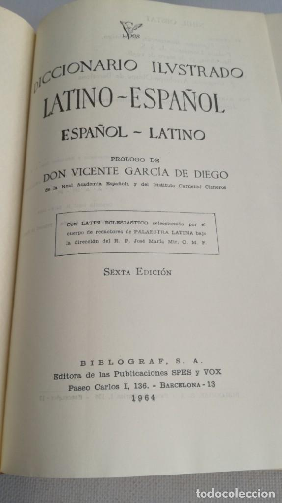 Diccionarios de segunda mano: DICCIONARIO LATINO ESPAÑOL ILUSTRADO -BIBLOGRAF 1964 - Foto 11 - 138920770